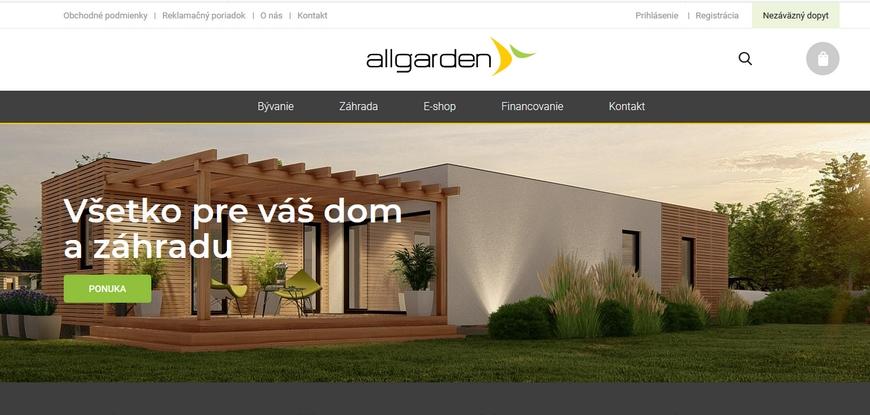 AllGarden - hliníkové ploty a pergoly
