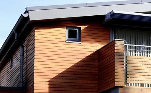drevená terasa, severské drevo