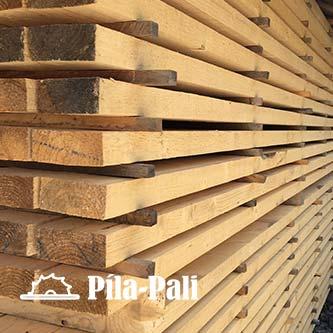 Drevené fošne od Píla Pali - rozmer 50 mm x 100 mm (dĺžka 3 m až 10 m)