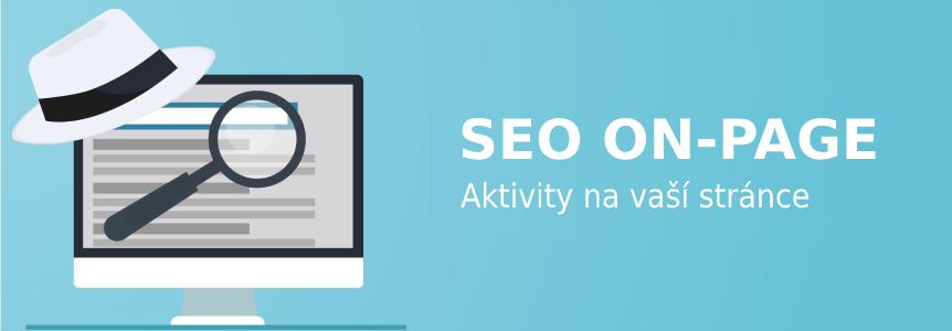 SEO on-page Aktivity na vaší stránce